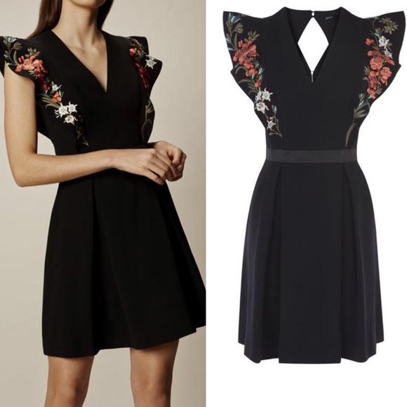 e2362c2340efdf Karen Millen Dresses | 2 Black Boho Embroidered Dress | Poshmark